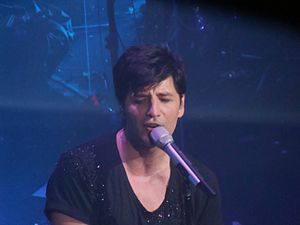 Sakis Rouvas - Rouvas at Club STARZ in Athens, December 2008