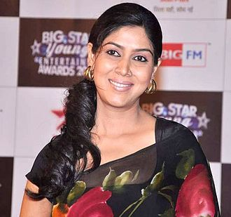 Sakshi Tanwar - Sakshi at the BIG Star Entertainment Awards, 2012