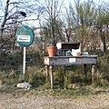 Sales table outside Tornauran - geograph.org.uk - 377034.jpg