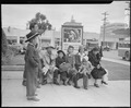 Salinas, California. Evacuees of Japanese ancesty wait for the bus which will take them to the Sali . . . - NARA - 536195.tif