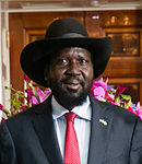 Salva Kiir Mayardit at the White House (cropped).jpg