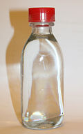 Sample of a clear liquid