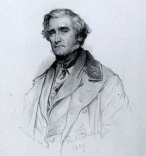 Samuel Carter Hall - Samuel Carter Hall from a print dated 1847