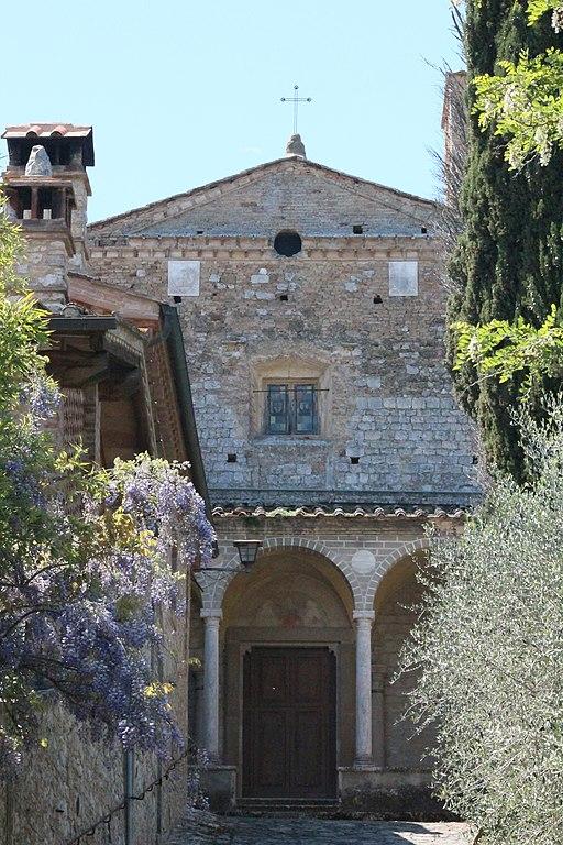 Santa Maria Assunta, Monastero di Monteoliveto minore