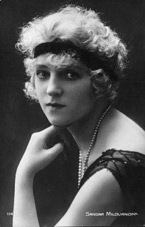 Sandra Milovanoff French actress