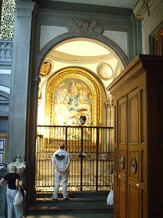 Capponi Chapel - Barbadori Chapel.