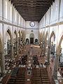 Santa croce, int., navata, veduta alta 02.JPG