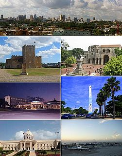 Santo Domingo City in National District, Dominican Republic