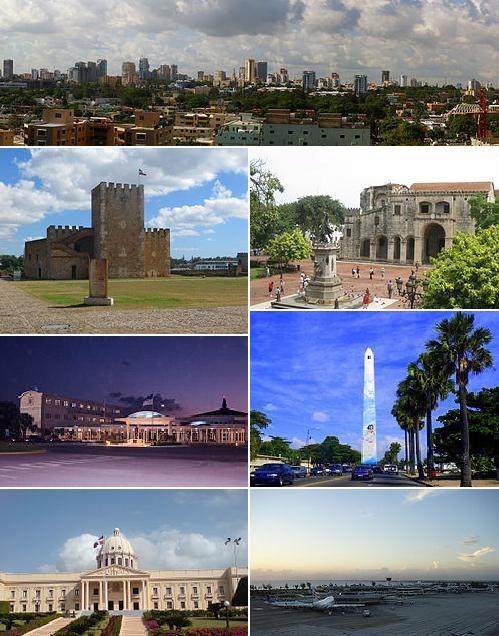 Santo Domingo montage