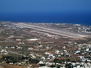 Santorini (Thira) International Airport - Image: Santorini Airport