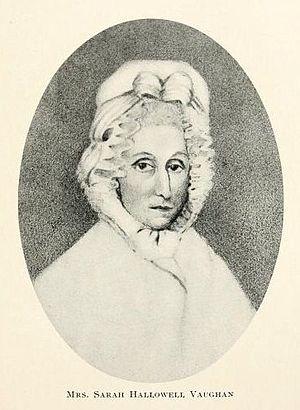 Samuel Vaughan - Sarah Hallowell Vaughan