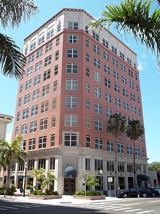 National Register of Historic Places listings in Sarasota County, Florida - Image: Sarasota FL Downtown HD American Natl Bank 01