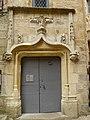 Sarlat-la-Canéda hôtel Grézel portail.JPG