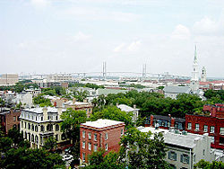 Downtown Savannah in 2006