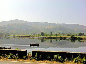 Savitri River - Savitri river near Mahad
