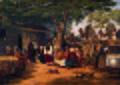 Scene af det offentlige liv i Orienten. Motiv ved karavanebroen i nærheden af Smyrma.jpg