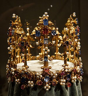 Crown of Princess Blanche - Another view of the Crown of Princess Blanche