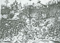 Schlacht von Wenzenbach im Codex Germanicus (Quelle: Wikimedia)