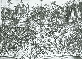 Maximilian I, Holy Roman Emperor - Maximilian personally led his troops at the battle of Wenzenbach in 1504.