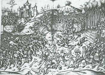 Albrecht Altdorfer: Battle of Wenzenbach