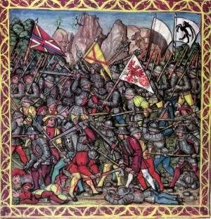 Battle of Calven - Image: Schlacht an der Calven