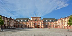 View of Mannheim Palace
