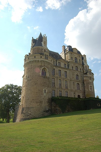 Château de Brissac, south-eastern aspect