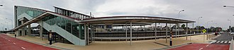 Schofields railway station - Image: Schofields Eastern Entrance Panorama