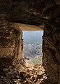 Scorcio da una delle finestre del Castello di Pietrapertosa.jpg