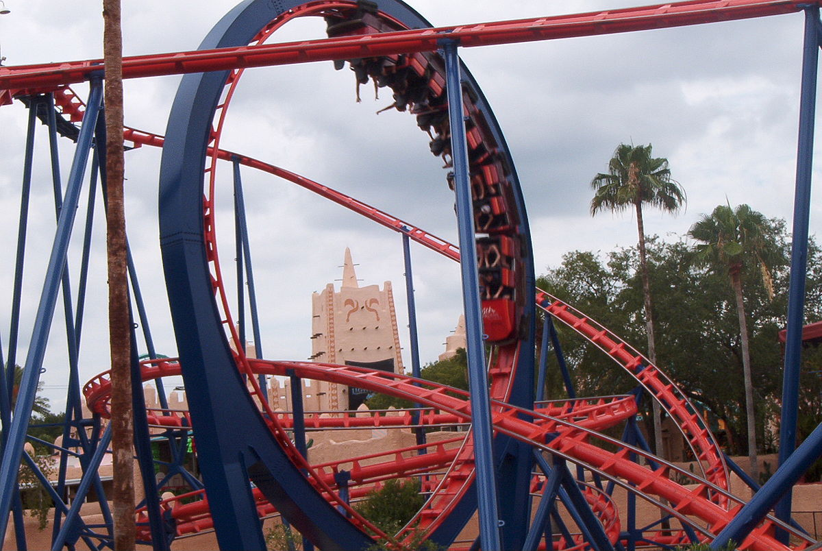 Scorpion roller coaster wikipedia - Busch gardens rides height requirements ...