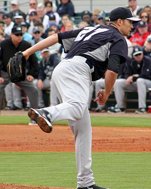 Scott Baker (right-handed pitcher) - Baker with the New York Yankees