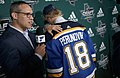 Scott Perunovich St. Louis Blues 2nd round pick 2018 NHL Draft. Talking with Andy Strickland.jpg