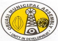 Official seal of Obuasi Municipal District