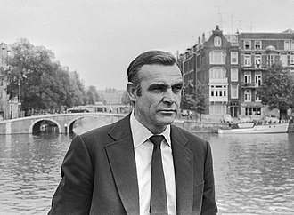 Connery during filming for Diamonds Are Forever in 1971 Sean Connery as James Bond (1971).jpg