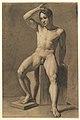 Seated Male Nude; verso, Male Nude Walking MET DP819629.jpg