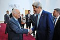 Secretary Kerry Bids Farewell to Arab League Secretary-General Elaraby (14295671279).jpg