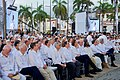 Secretary Kerry Sits in a Plaza Outside Cartagena Indias Convention (29843154882).jpg