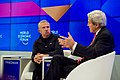 Secretary Kerry Speaks With New York Times Columnist Friedman at the World Economic Forum in Davos (32248768711).jpg
