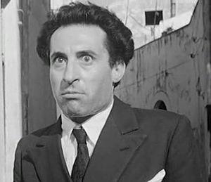 Schauspieler Leopoldo Trieste
