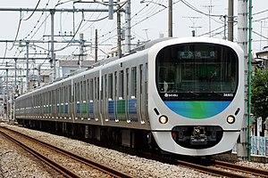 "Seibu Railway - Seibu 30000 series ""Smile Train"" commuter EMU"
