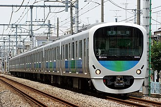 "Seibu Railway - Seibu 30000 series ""Smile Train"" commuter EMU"