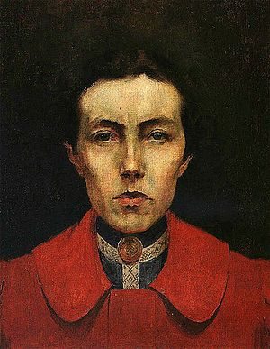 1900 in art - Image: Self portrait (Aurelia de Sousa)