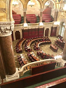 Senate Chamber at New York State Capitol, Albany.jpg