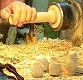 Sergueï Possad Fabrication d'une Matriochka, Russie zoom1.jpg