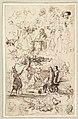 Sheet of Studies, Including for Reineke Fuchs; verso- Studies of Soldiers and of a Battle in a Wood MET DP819925.jpg