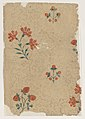 Sheet with overall dot pattern with bouquets Met DP886708.jpg