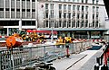 Sheffield Supertram - tramway construction in High Street (August 1994) - geograph.org.uk - 1706232.jpg
