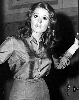Sherry Jackson - Jackson on an episode of Mr. Novak in 1963
