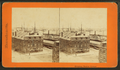 Shipping, Boston Harbor, from Robert N. Dennis collection of stereoscopic views.png