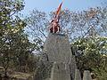 Shivaji Maharaj Statue,University of Pune by NishantAChavan3.JPG